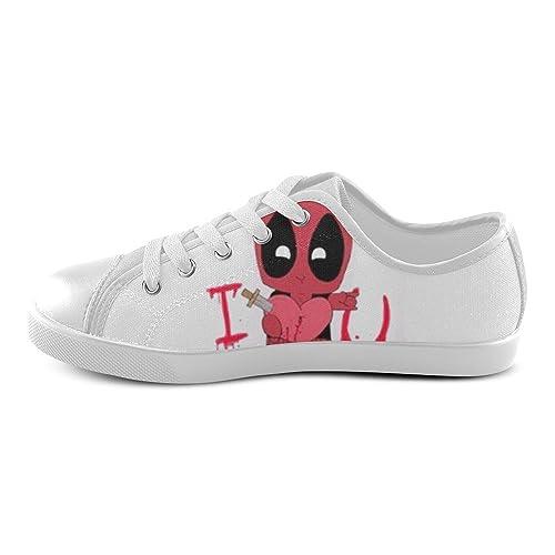 angelinana Custom Deadpool I Love You Bloody con cordones para hombre zapatos de Lienzo zapatillas deportivas para mujeres adultas -: Amazon.es: Zapatos y ...