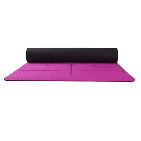 Giow Esterilla de Yoga Ensanchamiento Antideslizante Alta ...