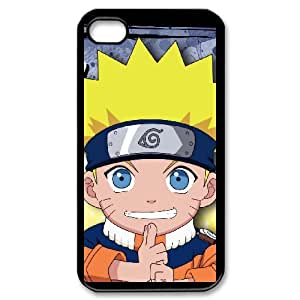 COOL Creative Desktop NARUTO CASE For iPhone 4,4S Send tempered glass screen protector Q84D805743