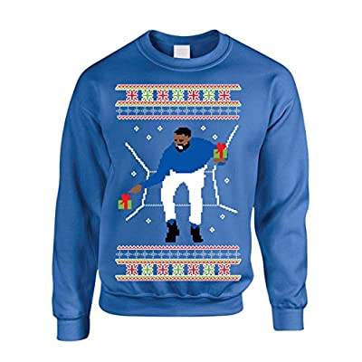 Allntrends Adult Crewneck 1-800 Hotline Bling Ugly Christmas Sweater supplier