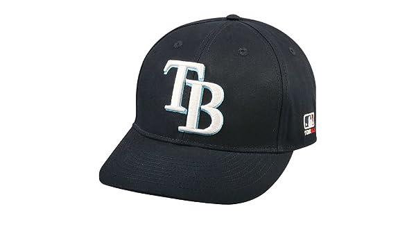 buy popular 4b81e 2d99a Amazon.com   Tampa Bay Rays MLB OC Sports Navy Blue w  White TB Logo Hat  Cap Adult Men s Adjustable   Sports   Outdoors