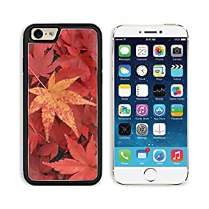 Red Maple Leaves Trees Punktail's Collections iPhone 6 Cover Premium Aluminium Design TPU Case Open Ports