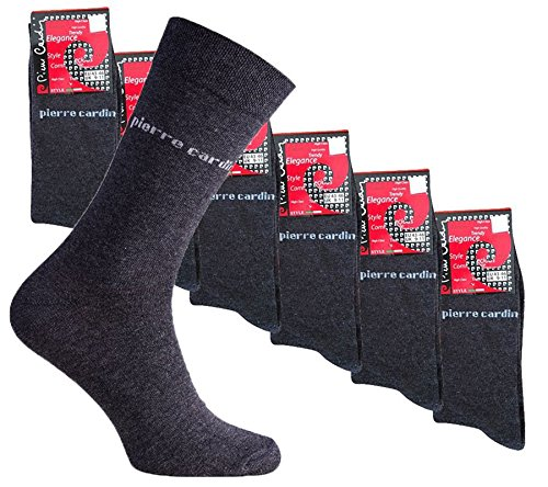 Pierre Cardin Herren 18er Pack Socken Anthrazit