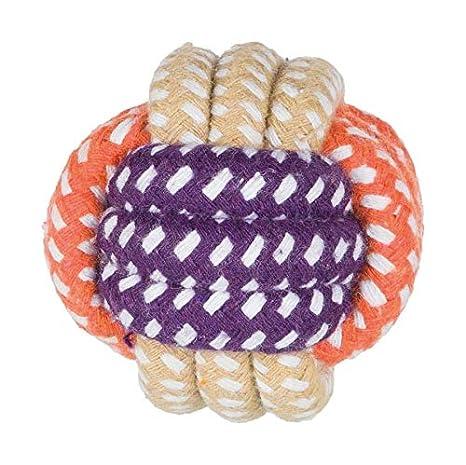 Trixie Pelota de Cuerda, ø 6 cm: Amazon.es: Productos para mascotas