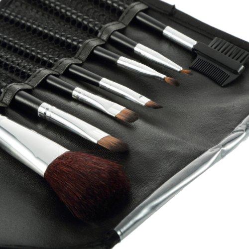 Brushes Make Up 7pcs set portable full Cosmetic brush tools Foundation Eye shadow Blush Lip brush make up essentials