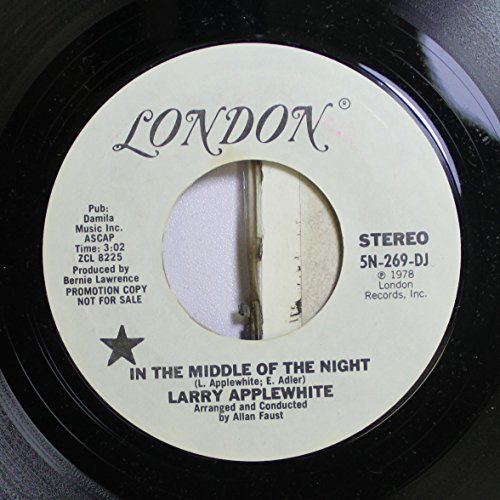 Larry Applewhite 45 RPM In The Middle Of The Night / In The Middle Of The Night