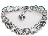 Brighton Enchanted Hearts Slide Bracelet,