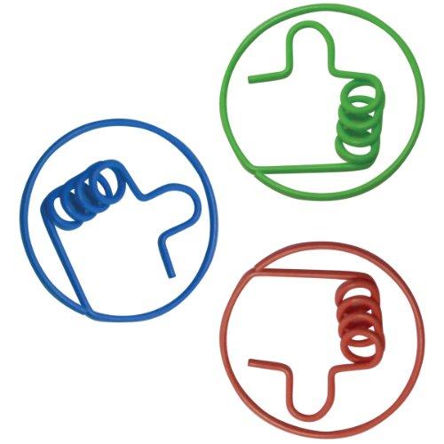 (Baumgartens 24320 Fun Shapes Thumb Shaped Paper Clip, 5