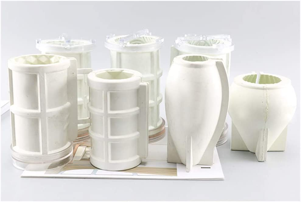 ZJL220 Candle Molds for DIY Candle Making kit Supplies Random