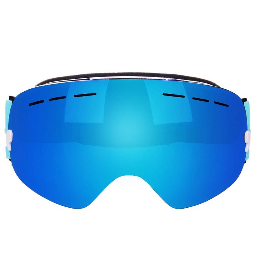 Juweishangmao Ski Goggles Double Layer UV400 Anti-Fog with Large ski Goggles ski Goggles Men Women Snow Snowboard Goggles GOG-201 Pro