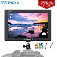 FEELWORLD T7 7 Inch IPS 4K HDMI Camera Field Monitor...