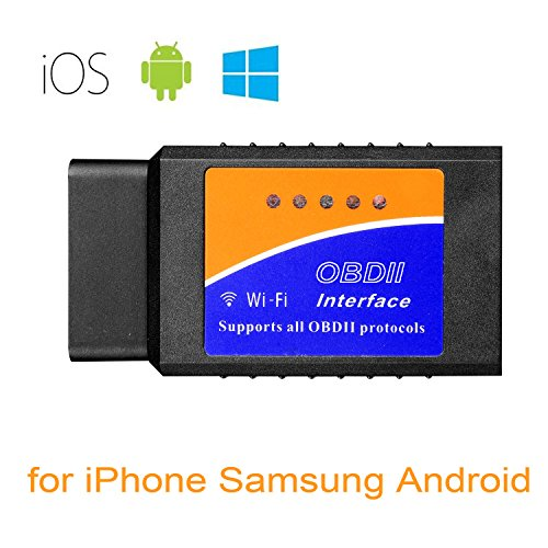 Car WIFI OBD 2 OBD2 OBDII Scan Tool Foseal Scanner Adapter Check Engine Diagnostic Tool for iOS & Andorid