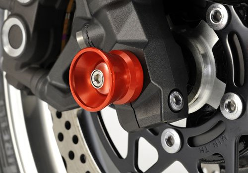 AGRAS front axle protector funnel type Red Z1000 [ZRT00D] (10) NINJA1000 [Z1000SX] (11) 344-482-A0R by AGRAS (Image #1)