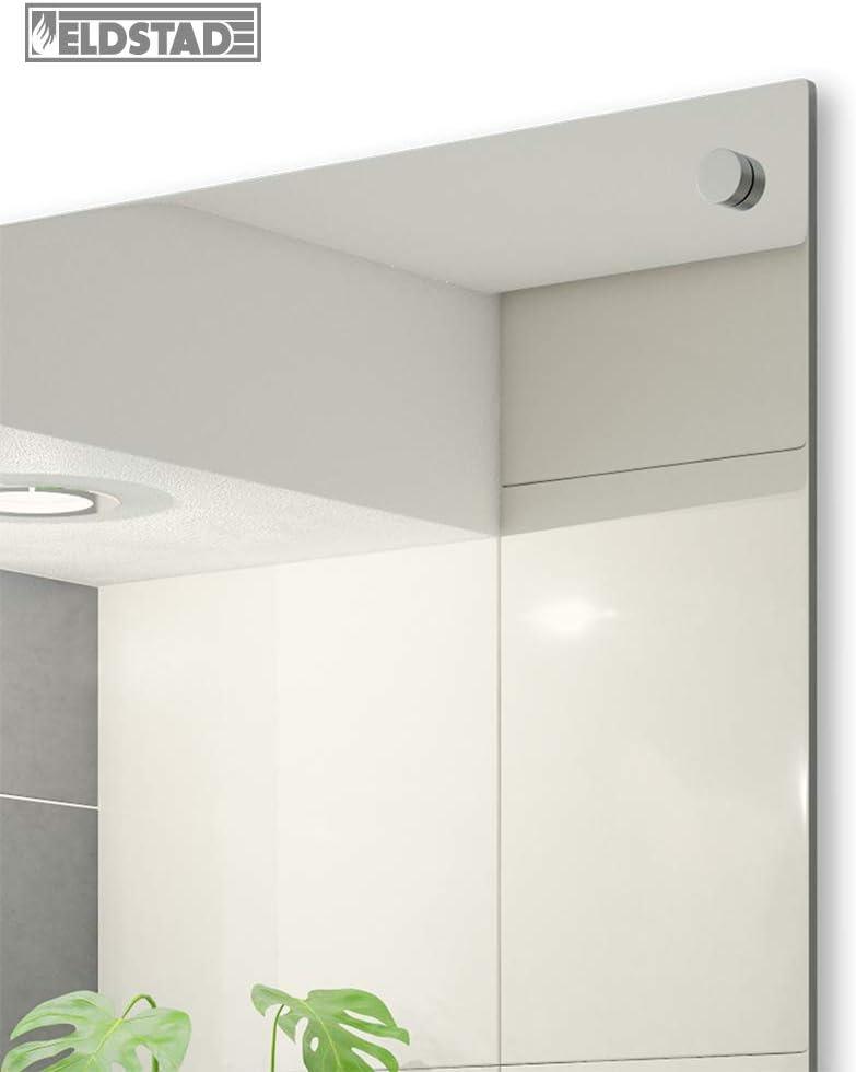 Eldstad Panneau chauffant infrarouge miroir radiateur infrarouge chauffage /électrique 450 W