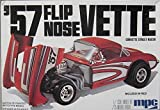 #3712 MPC '57 Flip Nose Vette Corvette Street Racer 1/25 Scale Plastic Model Kit, Needs Assembly