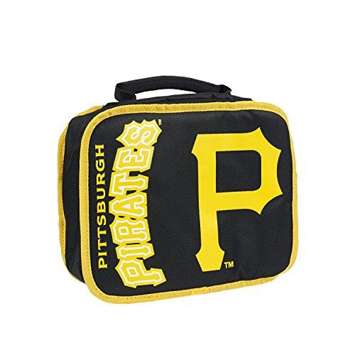 The Northwest Company MLB Pittsburgh Pirates Sacked Lunchbox, 10.5-Inch, Black