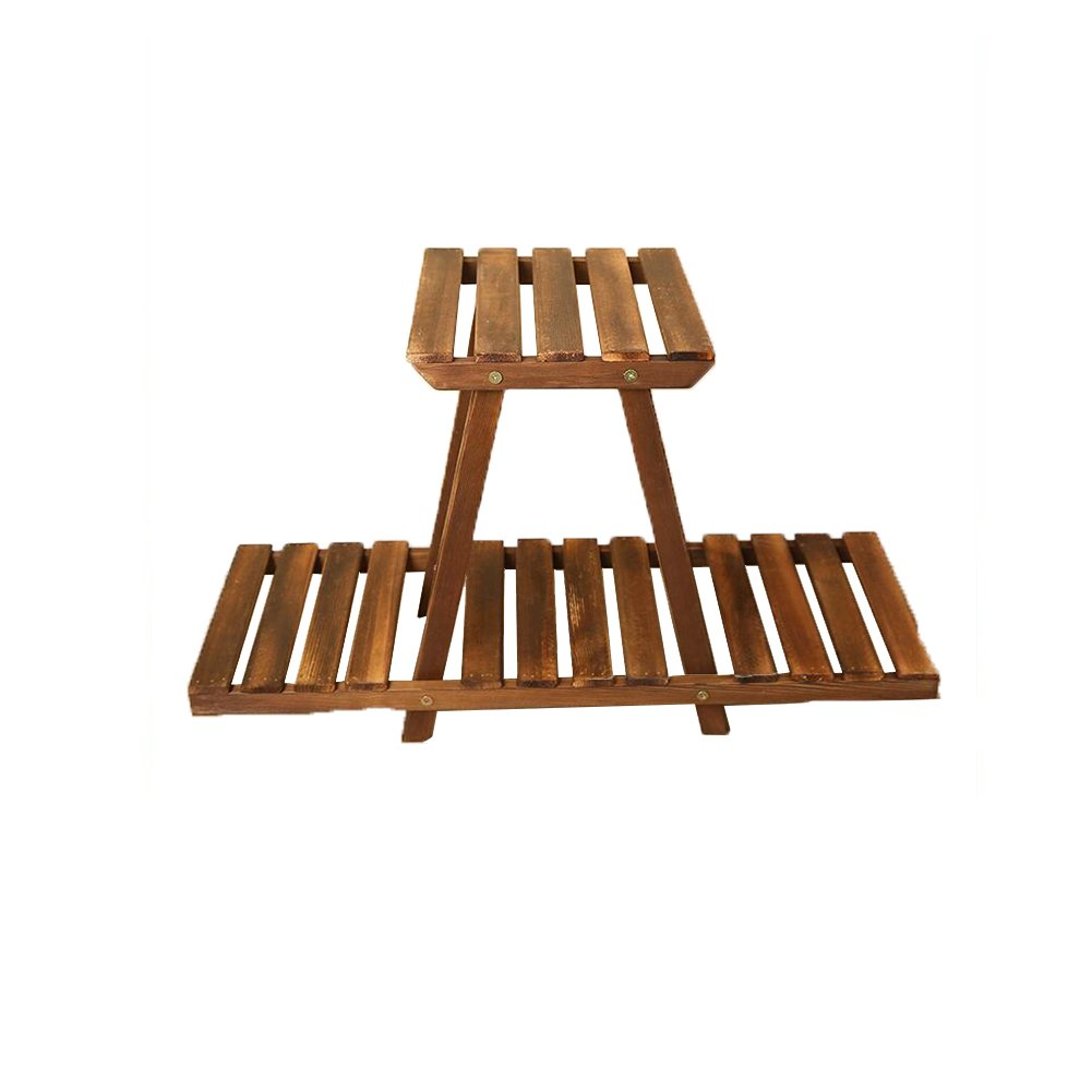 DALL Scaffali Porta Piante LY-289 Legno Massello Multilayer Mensola per Fioriera Balcone Salotto Stand di Fiori Scaffale di Stoccaggio 69  42  24 Centimetri