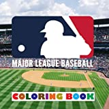 Major League Baseball: 2018 Coloring Book - All 30 MLB Logos To Color - Unique children's birthday gift / present.