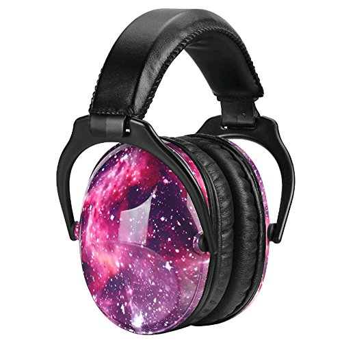 Noise Cancelling Headphones for Kids Hearing Protection with Travel Bag Adjustable Protector Noise Reduction Ear Muffs For Children,Junior,Babies,Infants purple by GAMT (Image #4)