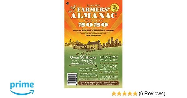 Farmers' Almanac 2020: Peter Geiger, Sondra Duncan