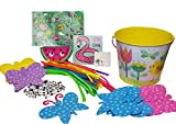 HeyYourStyle .Arts Crafts Googly Eyes Pipe Cleaners Coin Purse Bucket Easy Clean Up