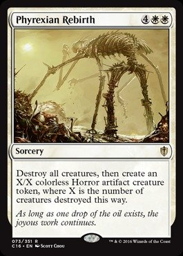 Magic The Gathering - Phyrexian Rebirth (073/351) - Commander 2016 from Magic The Gathering
