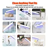 UV Light Sanitizer Wand, Portable UVC Light