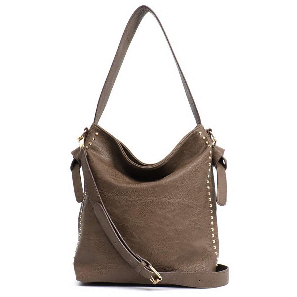 44e6031fa079 Amazon.com  BiAZbag Top-Handle Shoulder Bags Crossbody Strap Handbags Clay   Sports   Outdoors