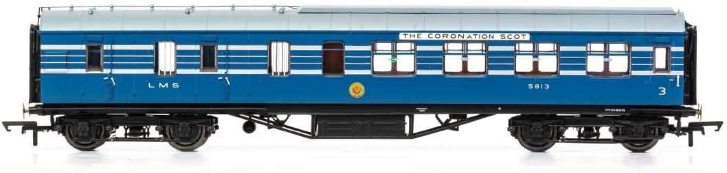 Stanier D1905 Coronation Scot 57 BTK Coach Era 3 Rolling Stock Hornby R4960 LMS 5812