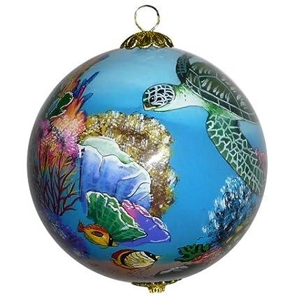 Maui By Design Collectible Hawaiian Christmas Ornament: Corals and Sea  Turtles - Amazon.com: Maui By Design Collectible Hawaiian Christmas Ornament