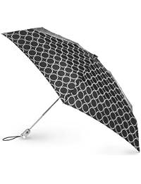 Signature Micro Auto Open Auto Close Compact Umbrella , Metro Dot, One Size