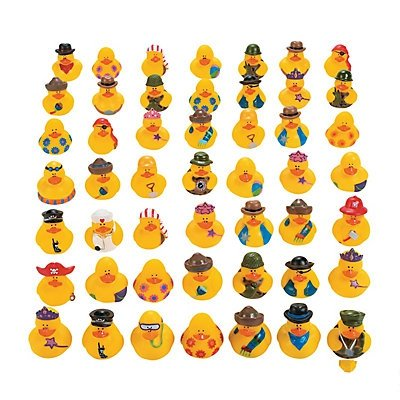 (Vinyl Rubber Ducky Assortment)