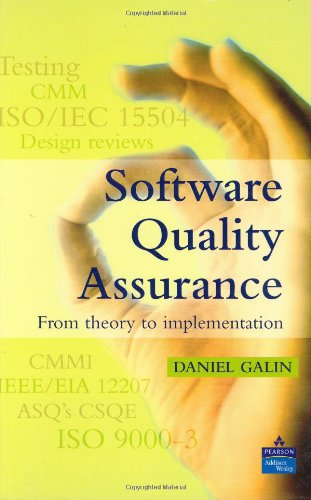 Galin: Software Quality Assurance_c by Pearson