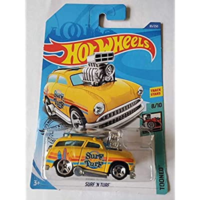 Hot Wheels 2020 Tooned Surf 'N Turf, Yellow 83/250: Toys & Games