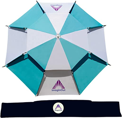 ImaginOut 6.6ft Multi-Use Beach Umbrella