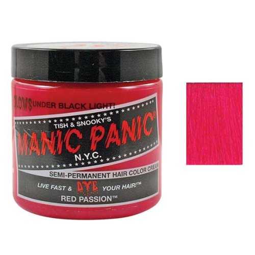 Manic Panic ~ Semi-Permanent Hair Dye ~ Red Passion