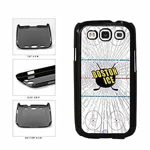 Boston Ice Plastic Phone Case Back Cover Samsung Galaxy S3 I9300