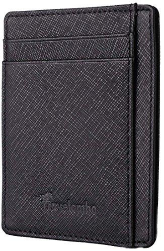 Travelambo Pocket Minimalist Genuine Leather