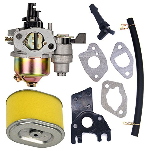 Honda Air Manifold - FitBest Carburetor with Air Filter Intake Manifold for Honda GX160 5.5HP GX200 6.5 HP Engine Carb Replaces# 16100-ZH8-W61