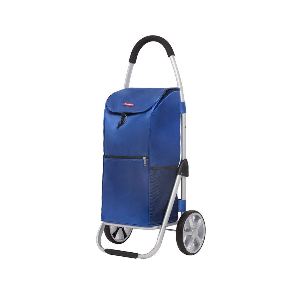 折りたたみ可能なショッピングカート、ショッピングトロリーバッグ/トート - トロリー多機能荷物カート、ホイール付き取り外し可能なバックパックマーサーレザー(3色)  B B07LBC72KD