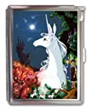 The Last Unicorn Anime Cigarette Case Lighter or Wallet Business Card Holder