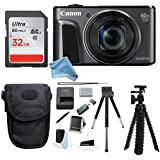 Canon PowerShot SX720 HS Digital Camera w/ 32GB SD Card & DigitalAndMore Free Deluxe Accessory Kit Bundle
