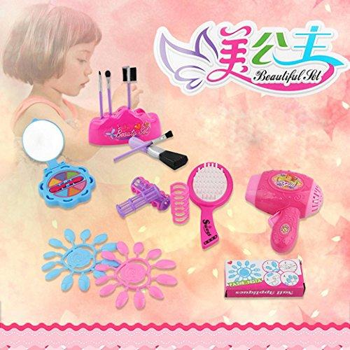 Lovely Girls Toy 6pc Kids Pretend Play Vanity Play Dresser