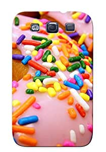 Tpu Shockproof/dirt-proof Multicolor Food Donuts Cover Case For Galaxy(s3)