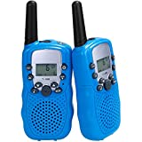 Lictin Kids Walkie Talkies-2pcs Walkie Talkies for Kids Built-in Flashlight 3KM Long Range