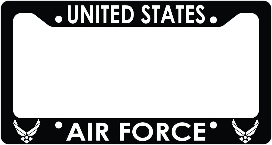 Funny Car License Plate Frame United States Air Force U.S