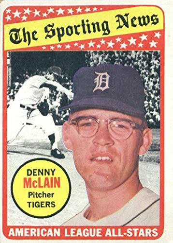 1969 Topps #433 Denny McLain Detroit Tigers Baseball Card