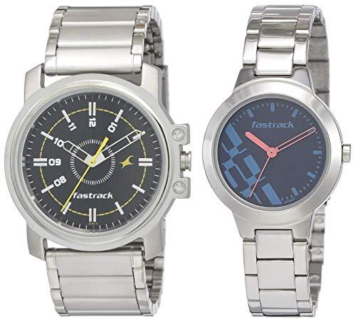 Fastrack Men #39;s Analog Watches  NG3039SM02C, NK6150SM03  Blue