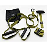 Fitness Strap Kit Full Body Resistance Exercise Trainer Set Door Anchor with Carry Bag for Home Gym Body Strength Workout