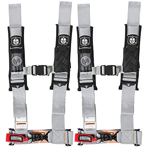 Pro Armor A114230SV Silver 4-Point Harness 3